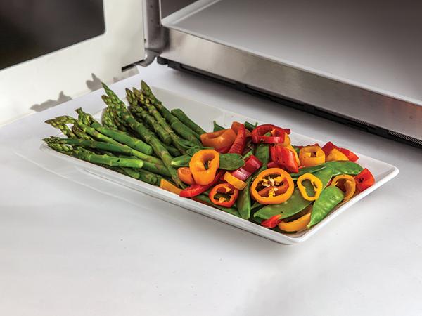 Veggies-plated
