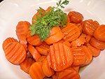 Crinkle Cut Carrots (frozen) – 8 oz.