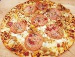 "12"" Crispy Thin Crust Sicilian Pizza"