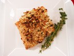 Salmon, Macadamia Crusted